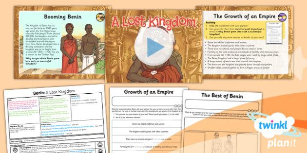 History: Benin: A Lost Kingdom UKS2 Lesson Pack 6