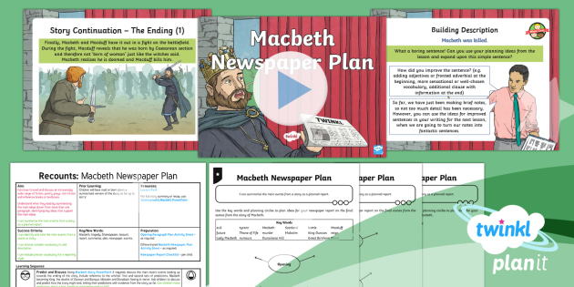 macbeth packet 1 Need help on themes in william shakespeare's macbeth  action necessary to  make it come to pass, or will the prophecy come true no matter what one does.