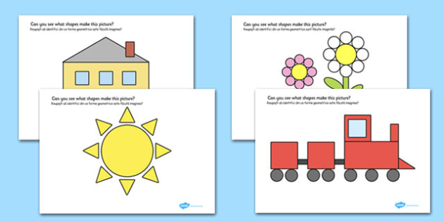 2D Shape Pictures Romanian Translation - romanian, 2d shape, pictures, 2d, shape, maths