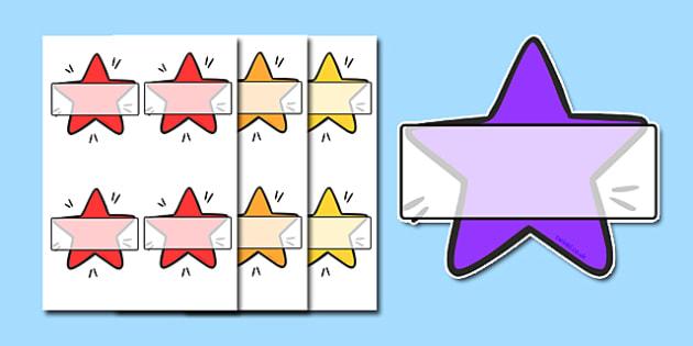 Stars Themed Self-Registration - stars, self registration, xmas