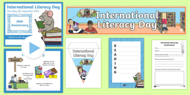 International Literacy Day Resource Pack