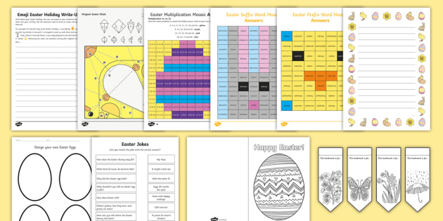 New Ks2 Top 10 Easter Activities Resource Pack Easter Holiday Half