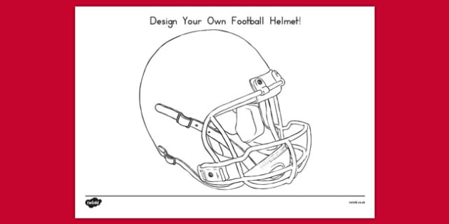 Design Your Own Football Helmet Activity