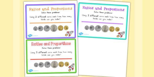 Adding Coins Maths Challenge Cards - australia, challenge, cards