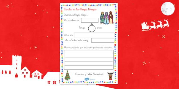 Carta a Los Reyes Magos - escribir, carta, escritura, papa noel, reyes, regalos, pedir