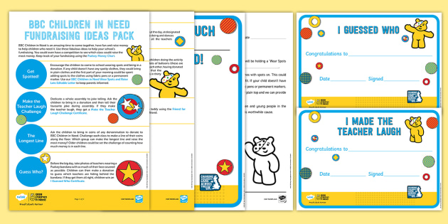 how to raise money for children in need