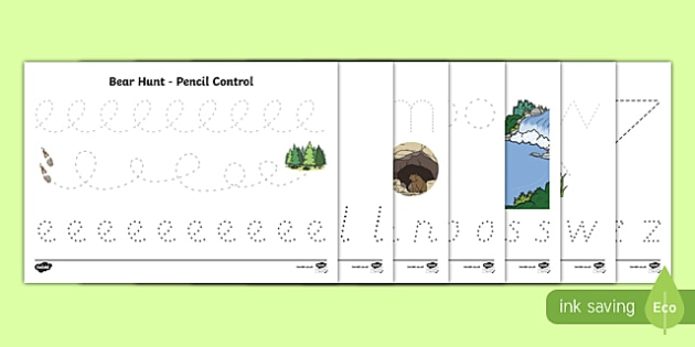 Pencil Control Worksheet / Activity Sheet Pack, worksheet