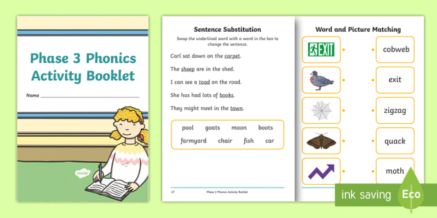Phase 3 Phonics Phonics Method For Teaching Reading Pdf