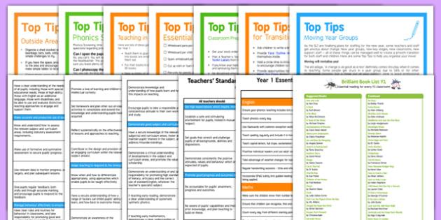 Teaching in Y1 Guidance Pack