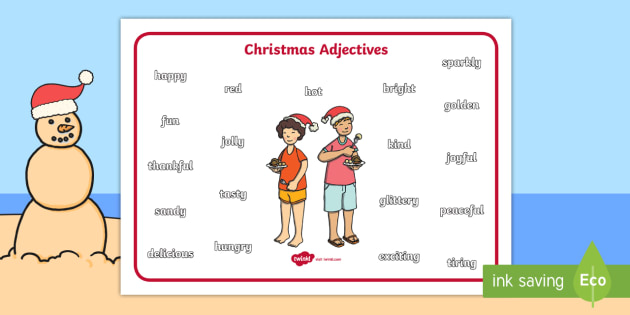 Christmas Word Mat | Special Days | EYFS, KS1, KS2