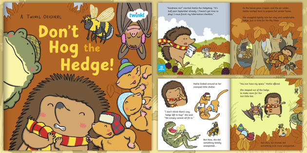 Image result for don't hog the hedge