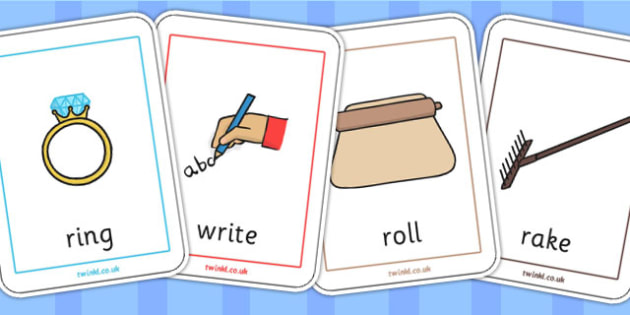 Initial r Sound Playing Cards - initial r, r sound, games, cards