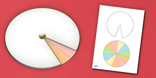 Interactive Notebook Spinner 1 11th - paper craft, visual aid