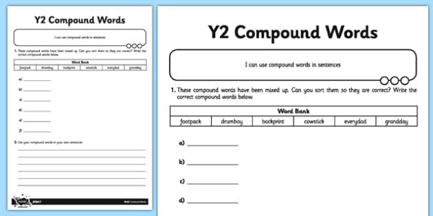 Compound words application worksheet activity sheet gps compound words application worksheet activity sheet gps spelling grammar compound words ibookread ePUb