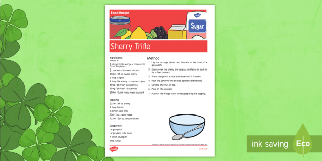 Elderly Care St. Patrick's Day Food Recipe - Elderly, Reminiscence, Care Homes, St. Patrick's Day, memory, remember