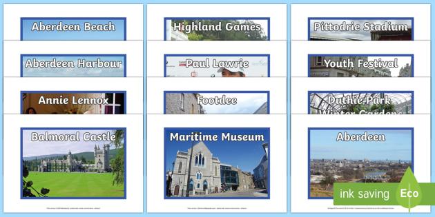 Aberdeen Photo Display Pack - cfe, aberdeen, display pack, display, pack, scotland