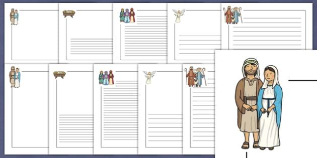 Ks2 Christmas Primary Resources The Nativity
