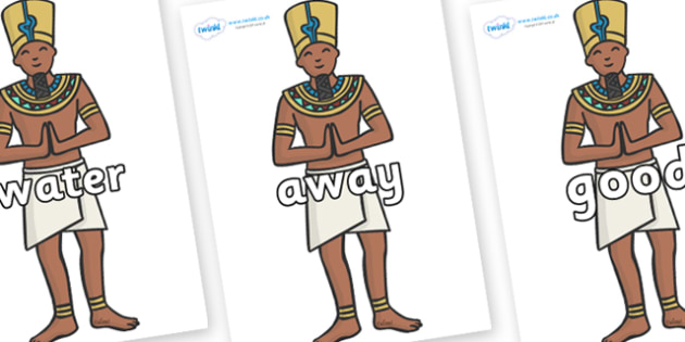 Next 200 Common Words on Egyptian Priests - Next 200 Common Words on  - DfES Letters and Sounds, Letters and Sounds, Letters and sounds words, Common words, 200 common words