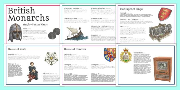 British Monarchs Timeline - british monarchs, timeline, british, monarchs