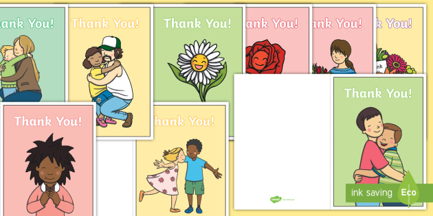 Free Thank You Messages For Nursery Staff Thank You Card Eyfs