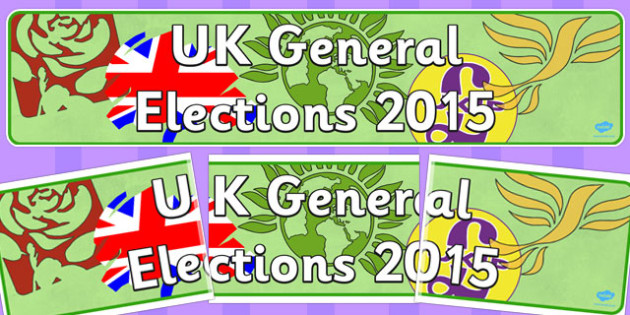 UK General Elections 2015 Display Banner - display, banner, 2015
