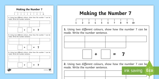 Ways to Make a Number: Composing Numbers Activities | Number ...