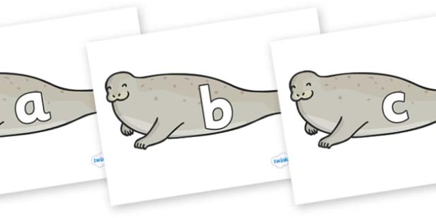Phase 2 Phonemes on Seals - Phonemes, phoneme, Phase 2, Phase two, Foundation, Literacy, Letters and Sounds, DfES, display