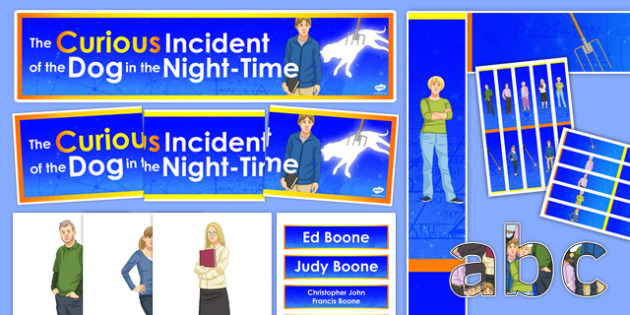 The Curious Incident of the Dog in the Night-Time Display Pack - Curious Incident of the Dog in the Night-time, Play, drama, GCSE, AQA, exam, modern drama, display