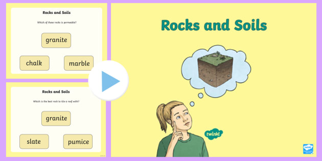 Rocks and soil powerpoint rocks soils changing states for T and t soils