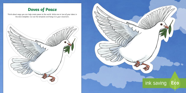 Doves of Peace Worksheet / Activity Sheet