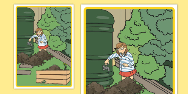 Water Butt and Compost Heap Display Poster - water, butt, compost, display poster, display, poster