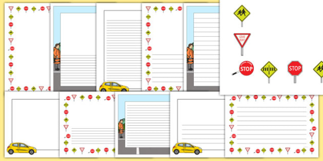 New Zealand Road Safety Page Border Pack