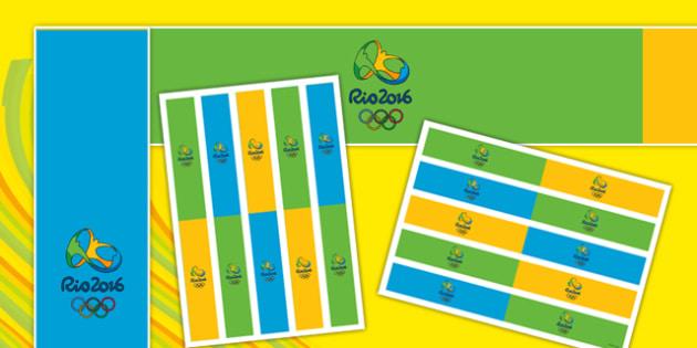 Rio 2016 Display Borders - rio 2016, display borders, display, borders, rio, 2016, olympics, olympic games