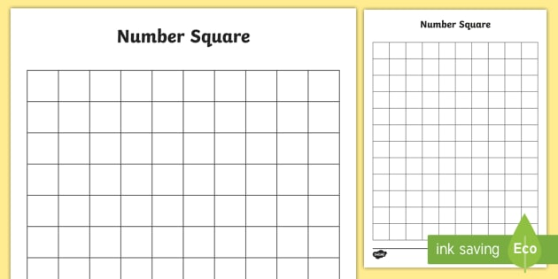 Blank Times Table Square Choice Image Decoration Ideas