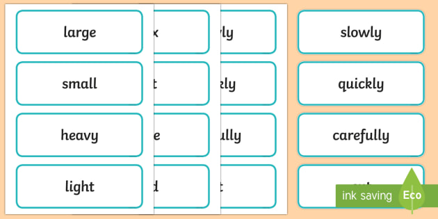 Early Stage 1 Procedure Language Word Cards - Literacy, kindergarten, description, language, spelling, vocabulary, display words, word wall, Austr