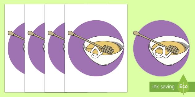 Tarjetas de fonemas: Miel - lecto, leer, primeros sonidos