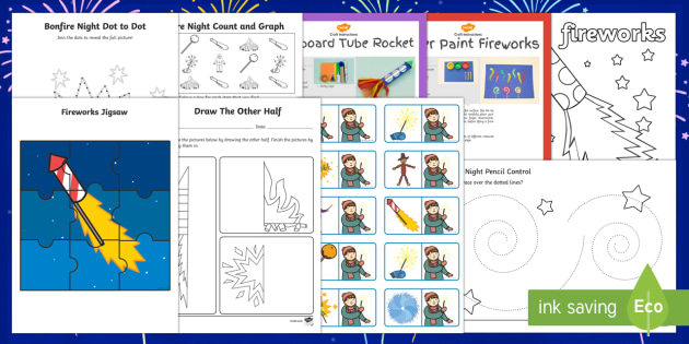 Top 10 Early Years Bonfire Night Activity Pack