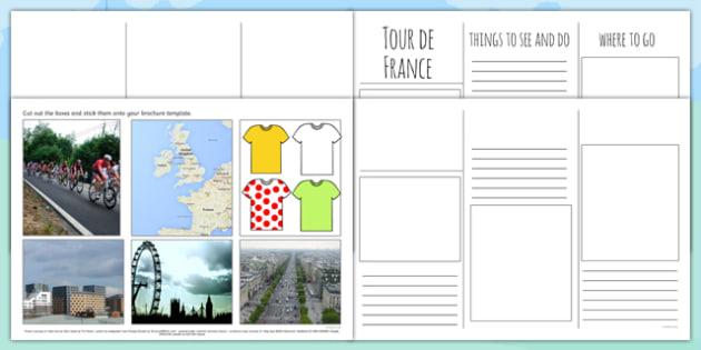Tour de France Brochure Template - le tour, sport, pe, sports