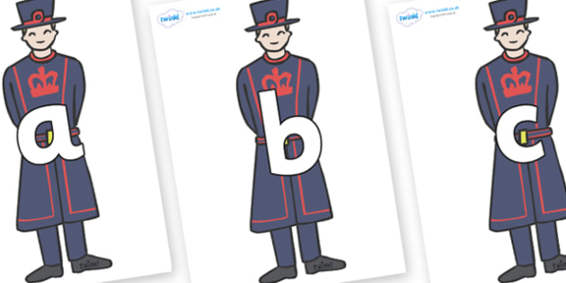 Phoneme Set on Beefeaters - Phoneme set, phonemes, phoneme, Letters and Sounds, DfES, display, Phase 1, Phase 2, Phase 3, Phase 5, Foundation, Literacy