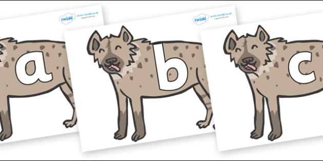 Phoneme Set on Hyenas - Phoneme set, phonemes, phoneme, Letters and Sounds, DfES, display, Phase 1, Phase 2, Phase 3, Phase 5, Foundation, Literacy