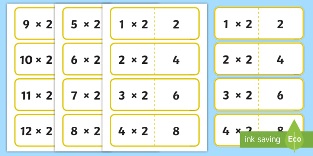 how to teach times tables to year 2
