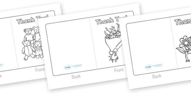 Class Visitor Thank You Cards  Card Template Visitor People