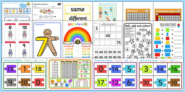 Assistant Maths Skill Intervention Pack - numeracy