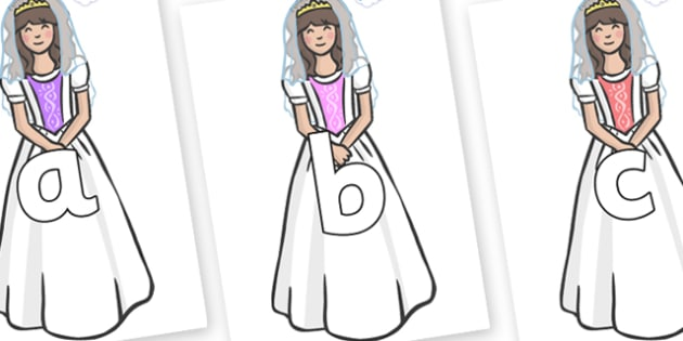 Phoneme Set on Princesses - Phoneme set, phonemes, phoneme, Letters and Sounds, DfES, display, Phase 1, Phase 2, Phase 3, Phase 5, Foundation, Literacy