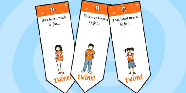 n Sound Family Editable Bookmarks - n sound family, editable bookmarks, bookmarks, editable, behaviour management, classroom management, rewards, awards