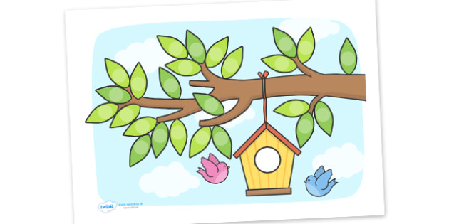 Birdhouse Sticker Chart For Small Stickers - birdhouse sticker chart for small stickers, birdhouse, sticker, sticker chart, small, chart, stickers, sticking, tree, birds