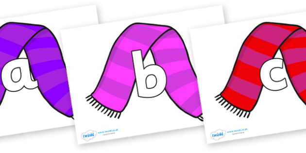Phoneme Set on Scarves - Phoneme set, phonemes, phoneme, Letters and Sounds, DfES, display, Phase 1, Phase 2, Phase 3, Phase 5, Foundation, Literacy