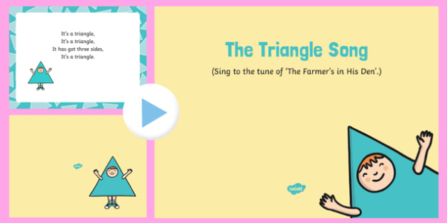 The Triangle Song PowerPoint