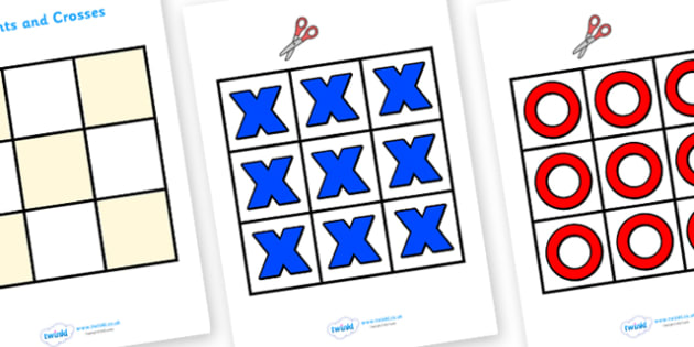 Noughts and Crosses Activity - noughts and crosses activity, noughts, crosses, activity, game, fun, wet play