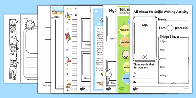 KS2 First Day Back Activity Pack